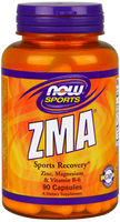 NOW ZAM 800 mg with Zinc, Magnesium, Vitamin B-6, 90 Capsules | NutriFarm.ca
