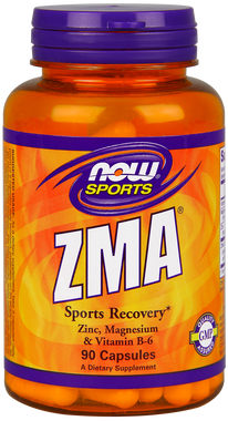 NOW ZAM 800 mg with Zinc, Magnesium, Vitamin B-6, 90 Capsules | NutriFarm.ca