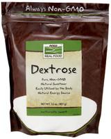 NOW Dextrose Powder, 907 g | NutriFarm.ca