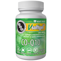 AOR Co-Q10, 60 Softgels | NutriFarm.ca