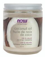 NOW Coconut Oil, 207 ml | NutriFarm.ca