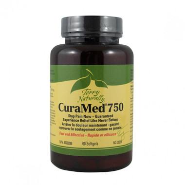 Terry Naturally CuraMed 750, 60 capsules   NutriFarm.ca
