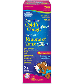 Hyland's Nighttime Cold 'n Cough, 118 ml | NutriFarm.ca