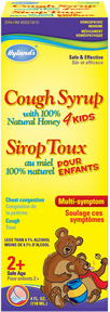 Hyland's 4 Kids Cough Syrup with 100% Natural Honey, 118 ml | NutriFarm.ca