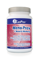 CanPrev Meno-Prev + Mood & Memory, 120 Vegetable Capsules | NutriFarm.ca