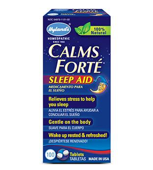 Hyland's Calms Forté, 100 Tablets | NutriFarm.ca