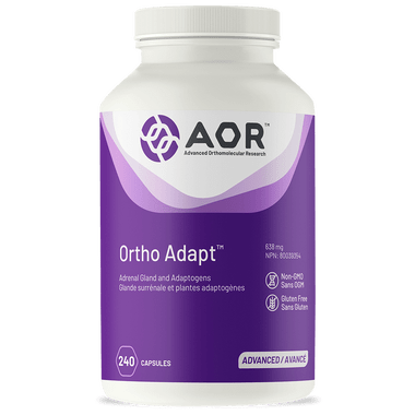 AOR Ortho Adapt, 240 Vegetable Capsules | NutriFarm.ca