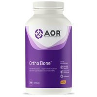 AOR Ortho Bone, 300 Capsules | NutriFarm.ca