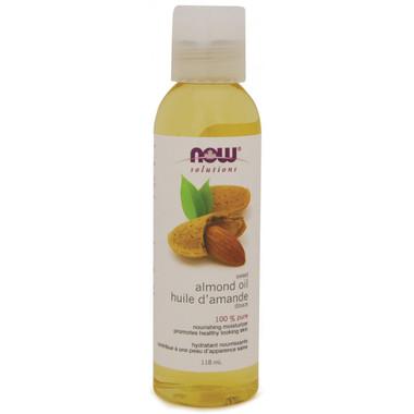 NOW Almond Sweet Expeller Pressed, 473 ml | NutriFarm.ca