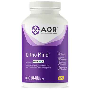 AOR Ortho Mind, 180 Vegetable Capsules | NutriFarm.ca