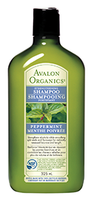 Avalon Organics Peppermint Shampoo, 325 ml | NutriFarm.ca