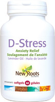 New Roots D-Stress, 60 Capsules | NutriFarm.ca
