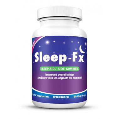 Sleep-Fx Sleep Aid, 60 Veg Capsules | NutriFarm.ca