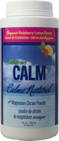 Natural Calm Magnesium Raspberry Lemon, 452 g (16 oz) | NutriFarm.ca