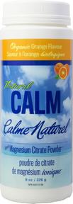 Natural Calm Magnesium Orange, 226 g (8 oz)   NutriFarm.ca