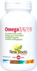 New Roots Omega 3/6/7/9, 180 Softgels | NutriFarm.ca