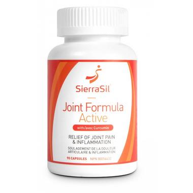 SierraSil Joint Formula Active, 90 Capsules | NutriFarm.ca