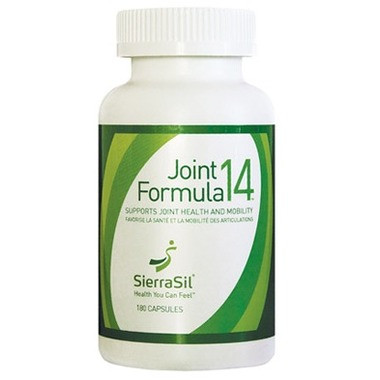 SierraSil Joint Formula14, 180 Capsules   NutriFarm.ca