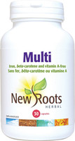 New Roots Multi, 30 Capsules | NutriFarm.ca