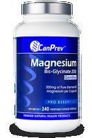 CanPrev Magnesium BisGlycinate 200 Gentle, 240 Vcaps | NutriFarm.ca