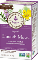 Traditional Medicinals Organic Smooth Move, 20 bags | NutriFarm.ca
