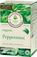 Traditional Medicinals Organic Peppermint, 20 bags | NutriFarm.ca