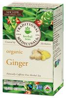 Traditional Medicinals Organic Ginger, 20 bags | NutriFarm.ca