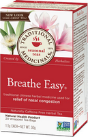 Traditional Medicinals Breathe Easy, 20 bags | NutriFarm.ca