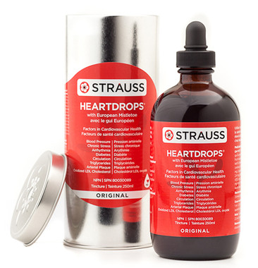 Strauss Naturals Heartdrops Original, 225 ml   NutriFarm.ca