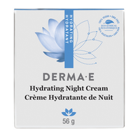 derma e Hydrating Night Cream, 56 g | NutriFarm.ca