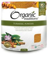 Organic Traditions Turmeric Powder, 200 g | NutriFarm.ca