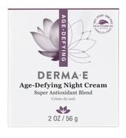 derma e Age-Defying Antioxidant Night Creme, 56 g | NutriFarm.ca