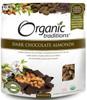 Organic Traditions Dark Chocolate Almonds, 227 g   NutriFarm.ca