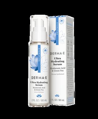 derma e Hydrating Serum with Hyaluronic Acid   NutriFarm.ca