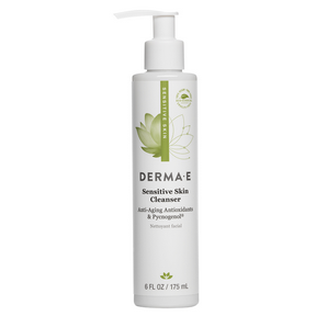 derma e Sensitive Skin Cleanser, 175 ml | NutriFarm.ca