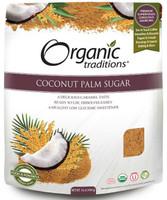Organic Traditions Coconut Palm Sugar, 454 g | NutriFarm.ca