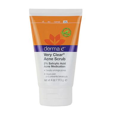 derma e Very Clear Acne Scrub | NutriFarm.ca