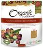 Organic Traditions Camu Powder, 100 g | NutriFarm.ca