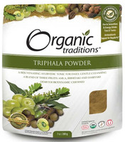 Organic Traditions Triphala Powder, 200 g | NutriFarm.ca