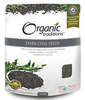 Organic Traditions Dark Chia Seeds, 454 g | NutriFarm.ca