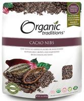 Organic Tradition Cacao Nibs, 454 g | NutriFarm.ca