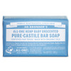Dr. Bronner's Organic Baby Unscented Bar Soap, 140 g | NutriFarm.ca