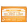 Dr. Bronner's Organic Citrus Bar Soap, 140 g | NutriFarm.ca