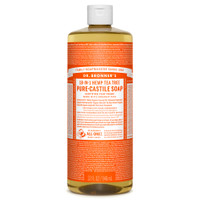 Dr. Bronner's Organic Tea Tree Oil Castile Liquid Soap, 946 ml | NutriFarm.ca