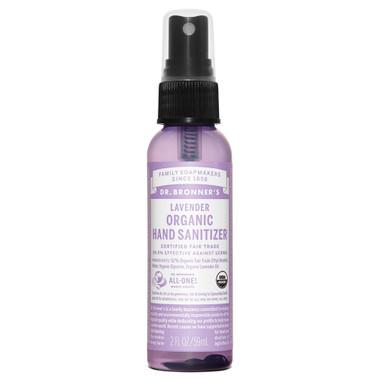 Dr. Bronner's Organic Lavender Hand Sanitizer, 59 ml | NutriFarm.ca