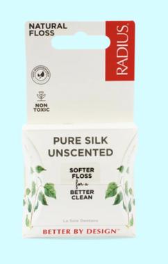 Radius Natural Biodegradable Silk Floss, 30 m | NutriFarm.ca