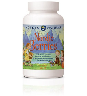 Nordic Naturals Children's Berries, 120 Chewable Gummies | NutriFarm.ca
