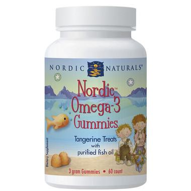 Nordic Naturals, Omega 3 Gummies Tangerine, 60 Gummies | NutriFarm.ca