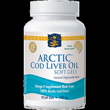 Nordic Naturals Cod Liver Oil Capsules, 90 Softgels | NutriFarm.ca