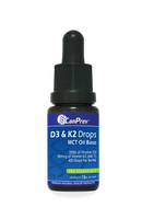 CanPrev D3 & K2 Drops, 15 ml | NutriFarm.ca